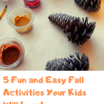 pinterest 5 fun and easy Fall activities graphic.