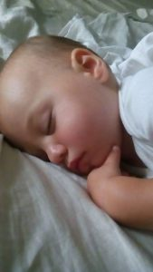 Toddler sleeping, making sure they have enough rest is important in avoiding tantrums and meltdowns.