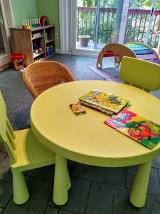 How To Get Started With Montessori: child sized furniture for your home.