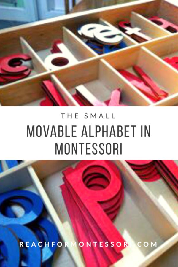 Montessori Movable Alphabet