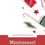 Montessori Christmas gifts Pinterest.