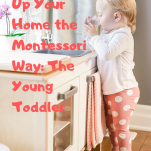 how to set up your home the Montessori way pin.
