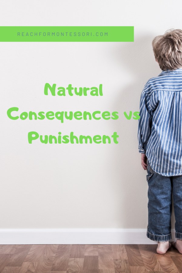 natural consequences vs punishment