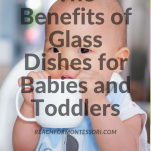 the benefits of glass instead of plastic dishes pinterest image.