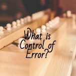 What is control of error? background wood knobbed cylinders pinterest image.