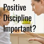 """Why is Positive Discipline Important?"" pinterest image."