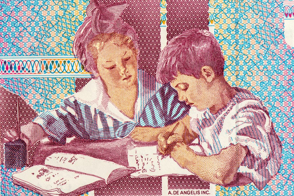 Maria Montessori stamp