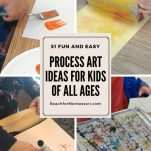 Process art ideas pinterest image.