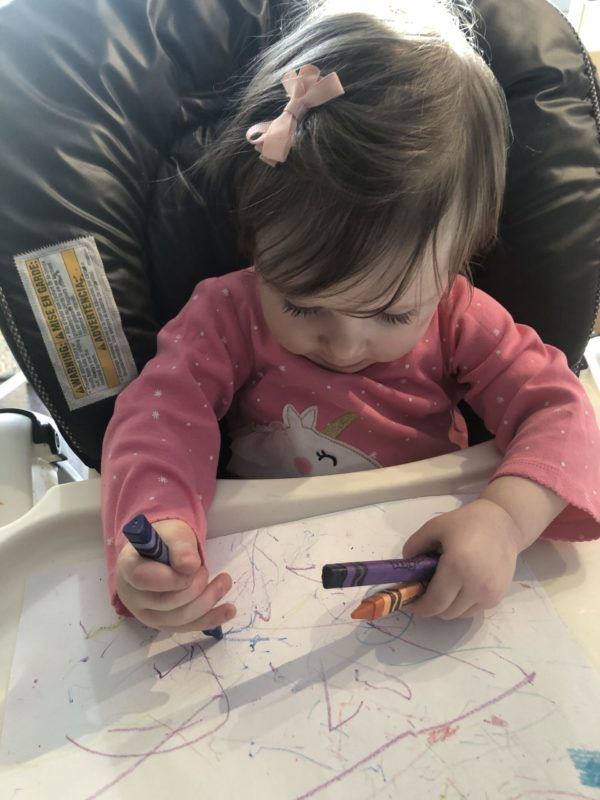 Process art coloring