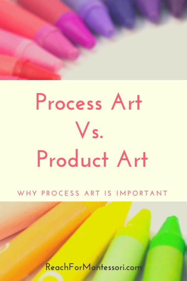 Process art pin