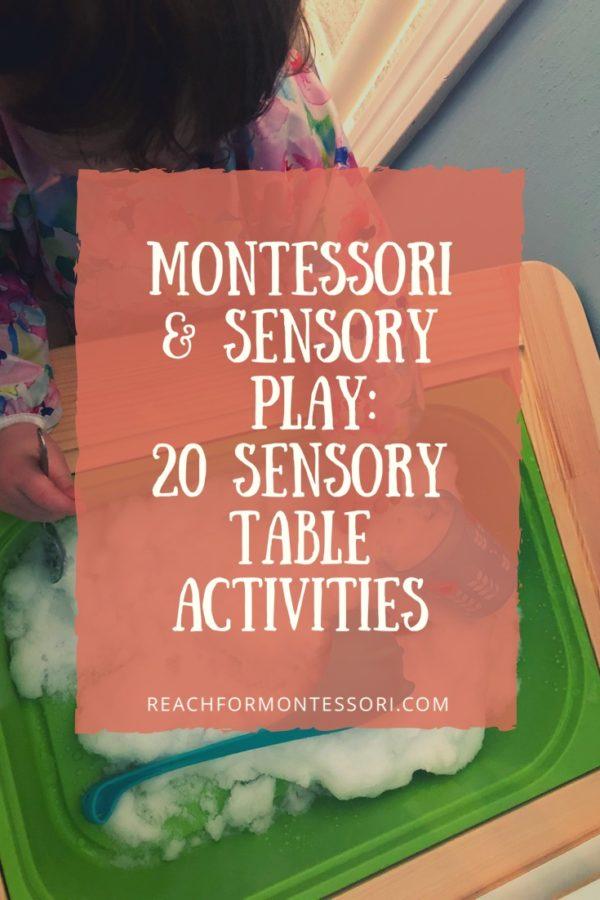 Montessori and sensory play pin