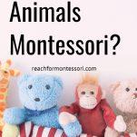 Are Stuffed Animals Montessori? pinterest image.