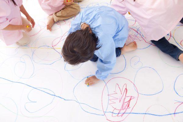 Reggio school children. Montessori-like. schools.