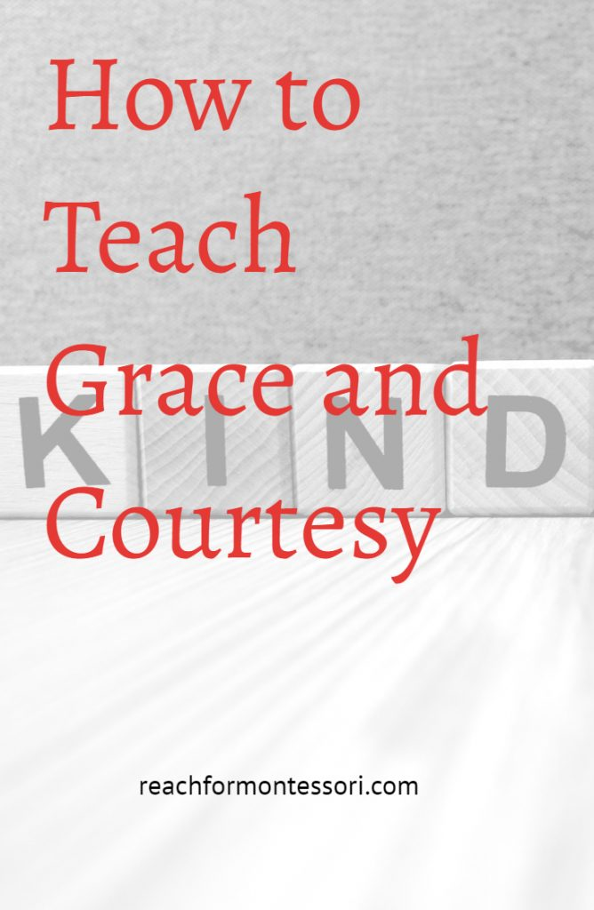 How to Teach Grace and Courtesy Pinterest Image