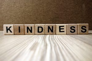 Blocks that say kindness. The building blocks of grace and courtesy.