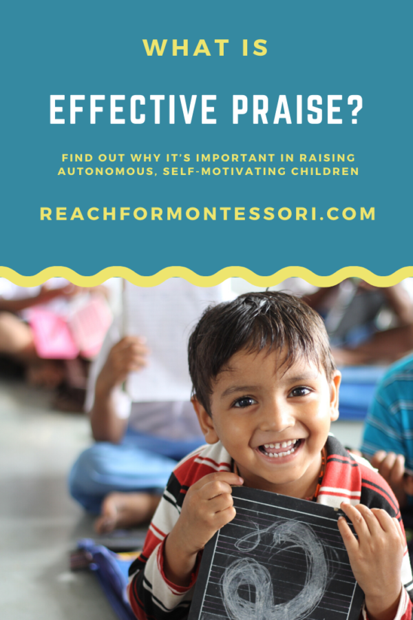 What is Effective praise