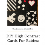 Pinterest high contrast cards image.