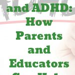 Montessori and ADHD Pinterest Text.