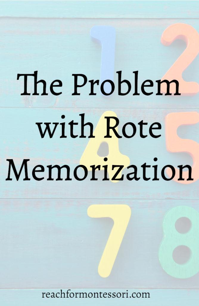 rote memorization graphic