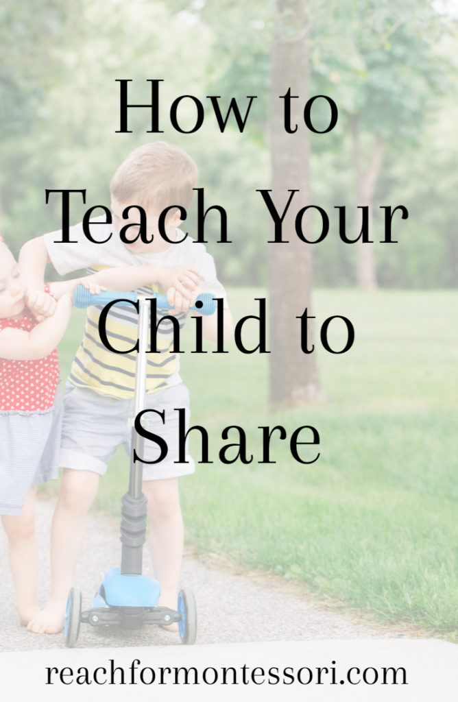 How to teach your child how to share Pinterest graphic