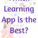 which learning app is the best Pinterest graphic