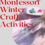 Montessori winter activities.