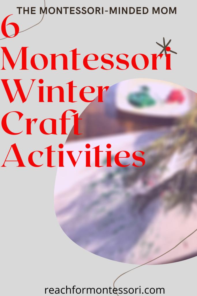Montessori winter activities