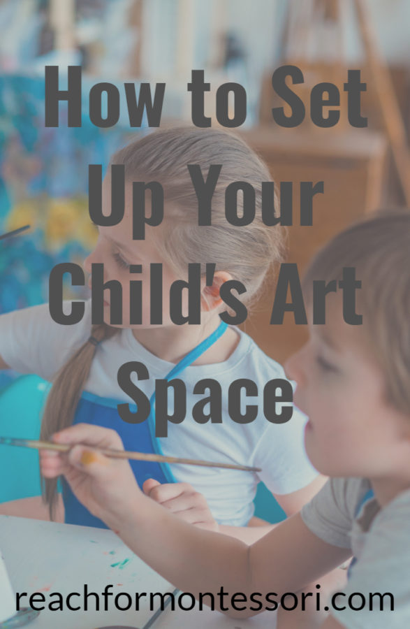 art space for toddlers