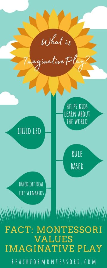 imaginative play facts infographic
