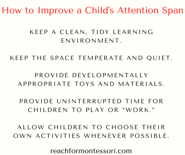 can attention span be increased infographic
