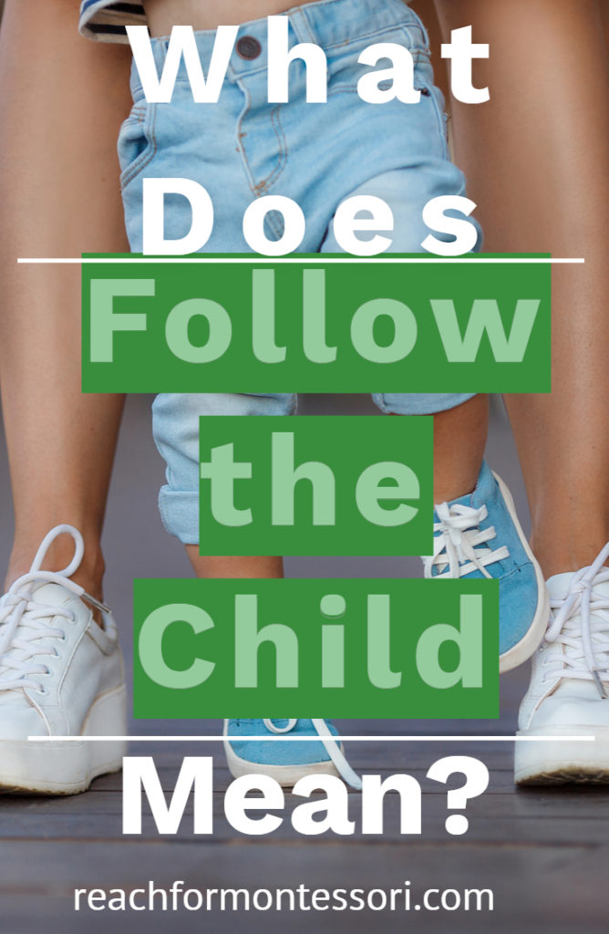 What does follow the child mean pin