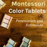 montessori color tablets pin 2.