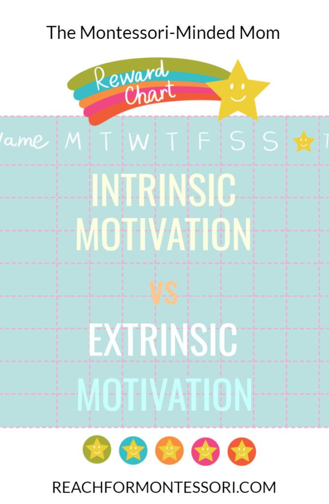 Intrinsic motivation vs extrinsic motivation Pinterest image