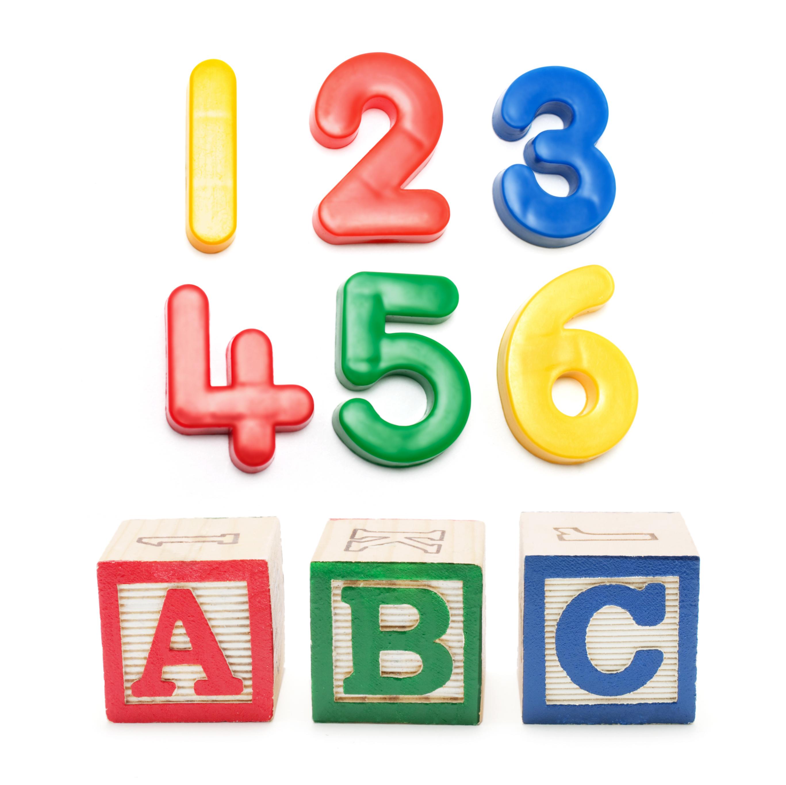 image of 123, ABC, Rote memorization.