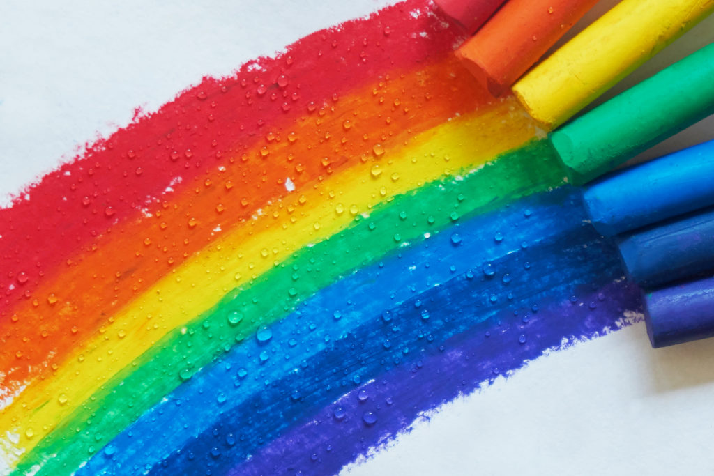 How to teach kids colors blog image.