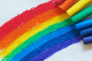 How to teach kids colors blog image