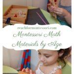 Montessori math materials by age pin.