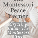 the montessori peace corner pin.