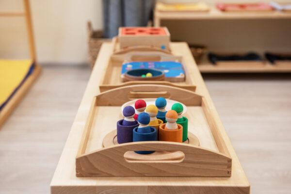 prepared montessori envoronment.