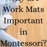 montessori work mats pinterest image.
