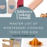 children's cooking utensils pin.