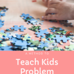teach problem solving for kids pin.