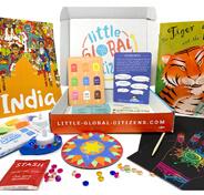 Image of Little citizens Montessori subscription box.