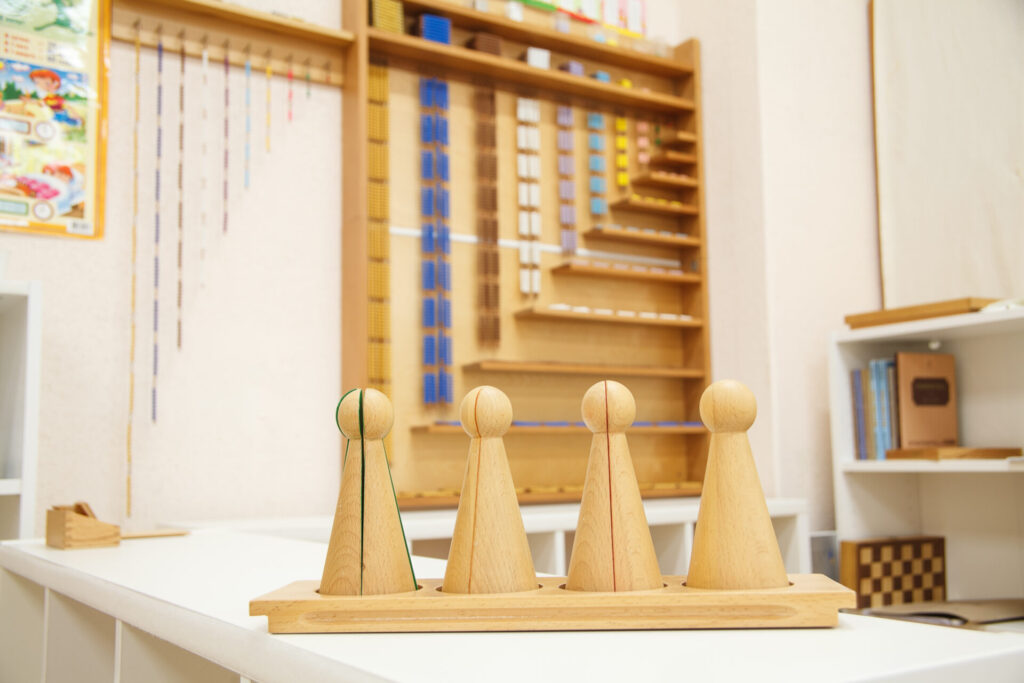 Montessori skittles image.