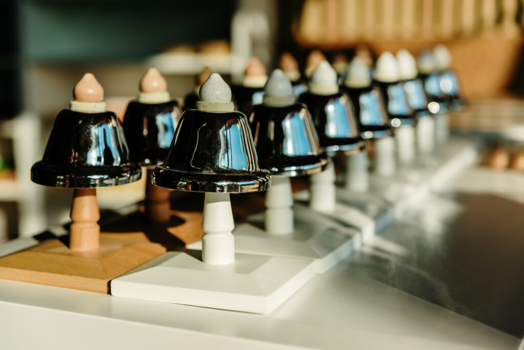 image of the montessori bells.
