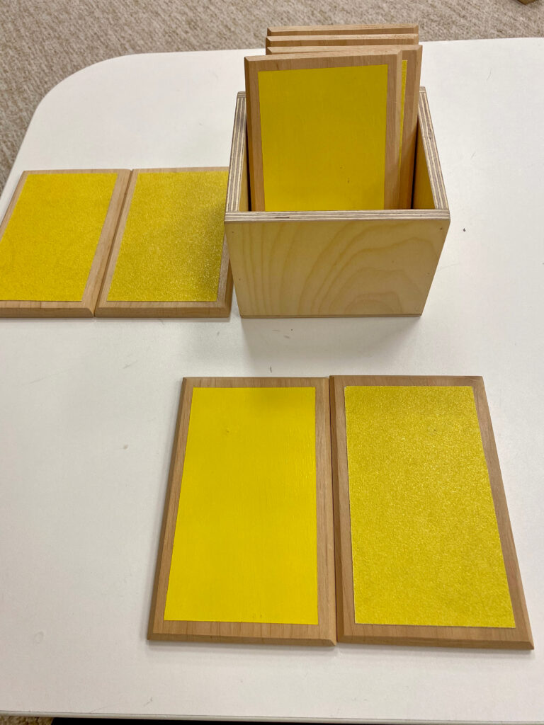 image of the montessori touch tablets.