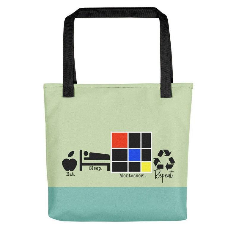 image of montessori tote, a gift for montessori teachers.